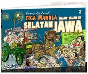 Buku Tiga Manula Jalan-Jalan Ke Selatan Jawa