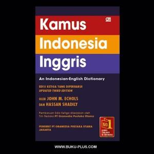 Kamus Inggris - Indonesia Edisi yang diperbarui, John M.Echols